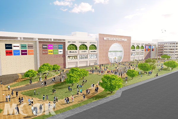 MITSUI OUTLET PARK台南預定將於2022年完工開幕。